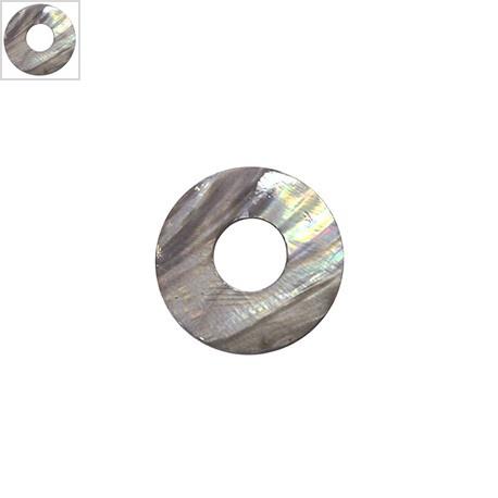 Κοχύλι Μοτίφ Στρογγυλό 50mm - Γκρι ΚΩΔ:74020027.003-NG