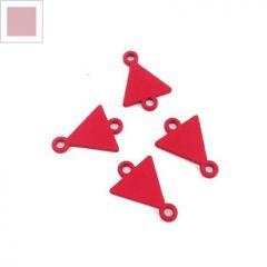 Μεταλλικό Ζάμακ Χυτό Στοιχείο Τρίγωνο για Μακραμέ 10x12mm - Σομόν ΚΩΔ:78170122.006-NG