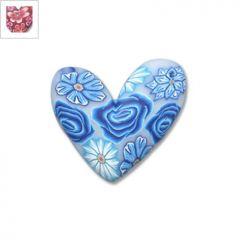 Φίμο Μοτίφ Καρδιά 30mm - Κόκκινο/Φούξια ΚΩΔ:70040062.004-NG