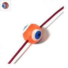 Πολυεστερική Χάντρα Μάτι 10mm - Κόκκινο ΚΩΔ:71010139.001-NG