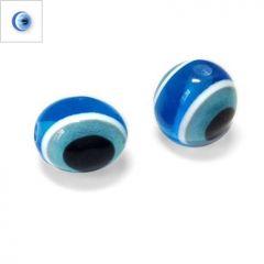 Πολυεστερική Χάντρα Μάτι 10x13mm - Μπλε ΚΩΔ:71010146.002-NG