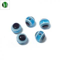 Πολυεστερική Χάντρα Μάτι 6mm (Ø1.5mm) - Green ΚΩΔ:71010427.003-NG