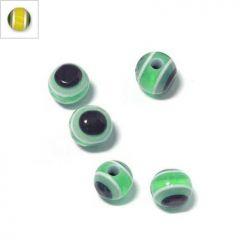Πολυεστερική Χάντρα Μάτι 6mm (Ø2.2mm) - Yellow ΚΩΔ:71010449.009-NG