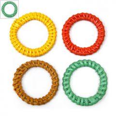 Ρατάν Μοτίφ Κύκλος Περίγραμμα (~36mm) - Βεραμάν ΚΩΔ:76030004.002-NG